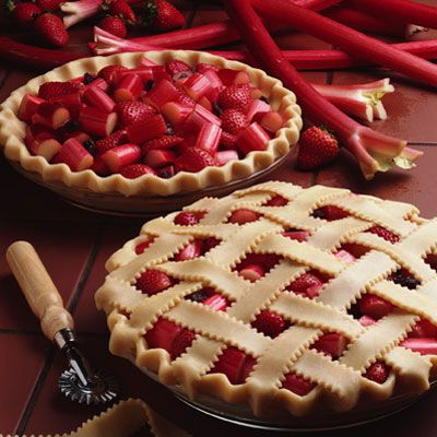 Old-Fashioned Rhubarb Pie
