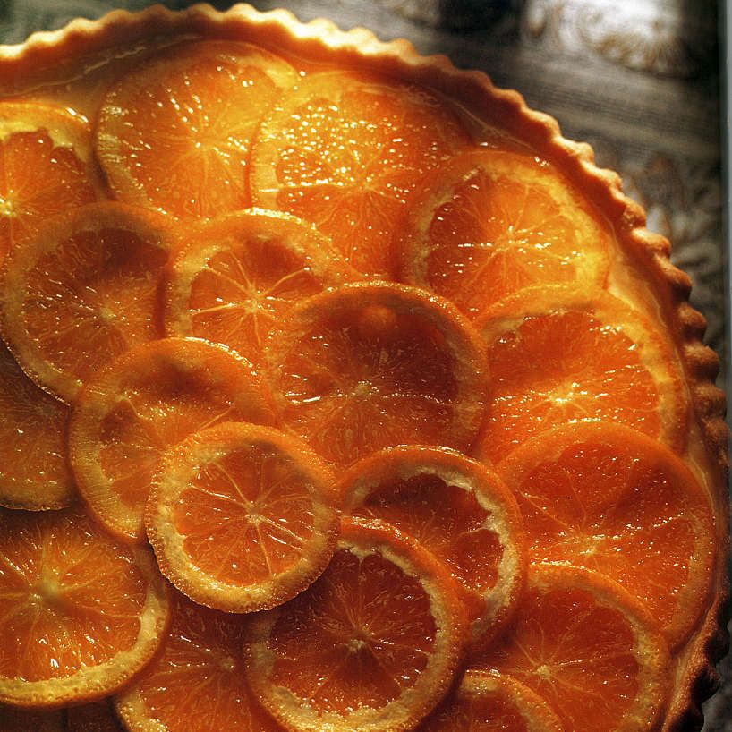 Orange Chiffon Tart