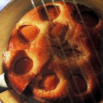 Peach Pudding Cake