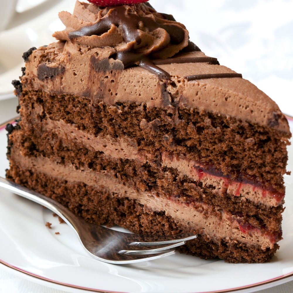 Mile-High Chocolate Layer Cake Recipe : Cooking.com Recipes