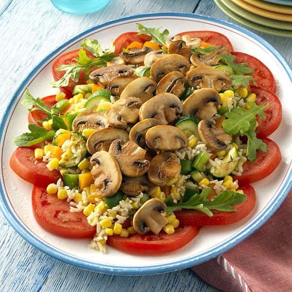 Farmers Market Mushroom Salad