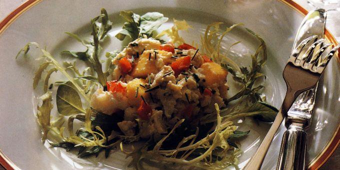 Crab Salad with Mango