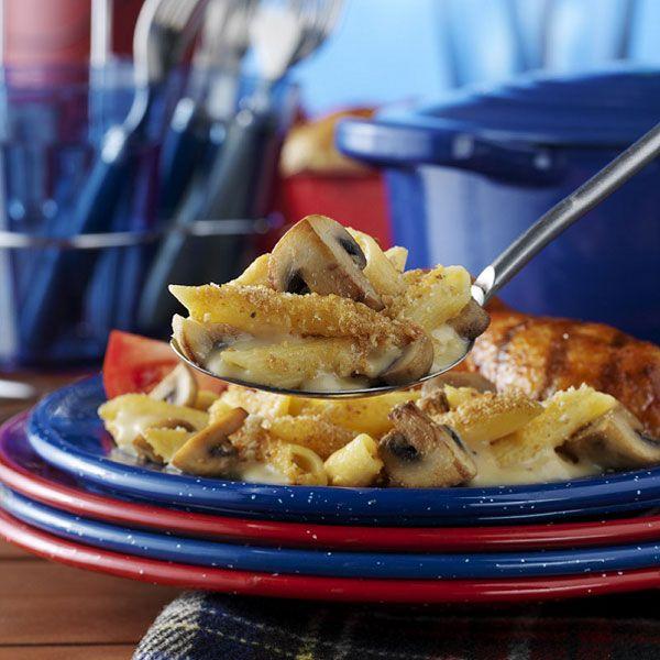 Mushroom 'n' Beer Mac 'n' Cheese Recipe : Cooking.com Recipes