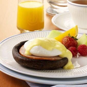 Portabella Eggs Benedict