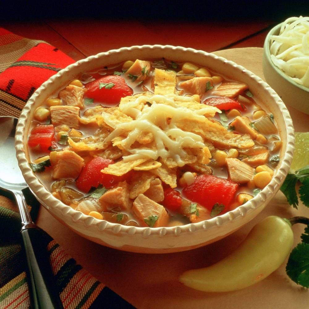 Turkey Tortilla Soup Recipe : Target Recipes