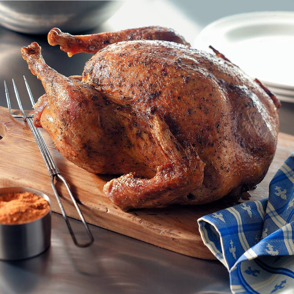 Southern Deep-Fried Turkey