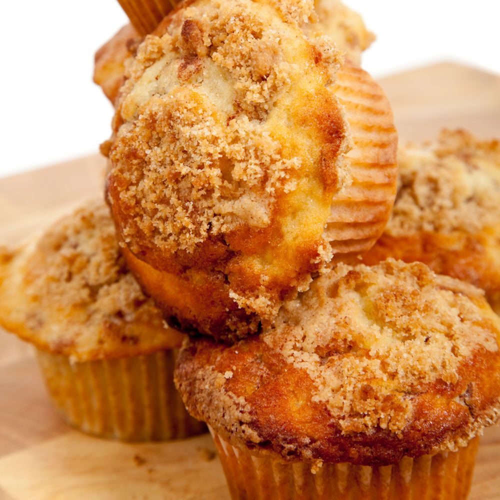 Cinnamon-Streusel Cider Muffins