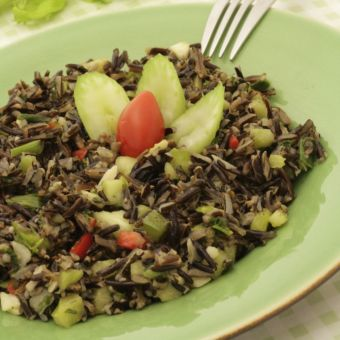 Vegetarian Wild Rice Salad
