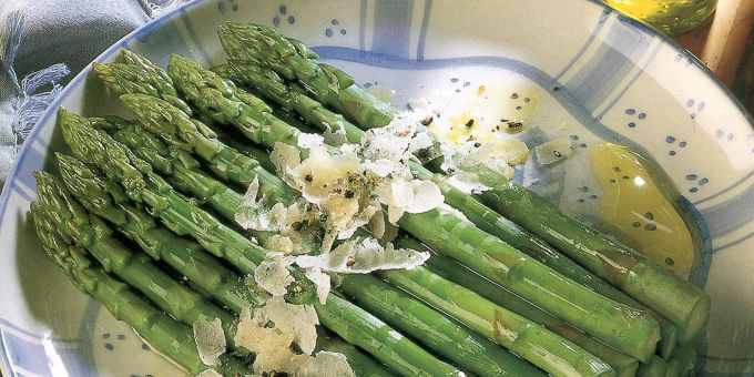 Asparagus with Olive Oil and Parmesan