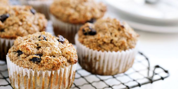 Fruit and Honey Bran Muffins