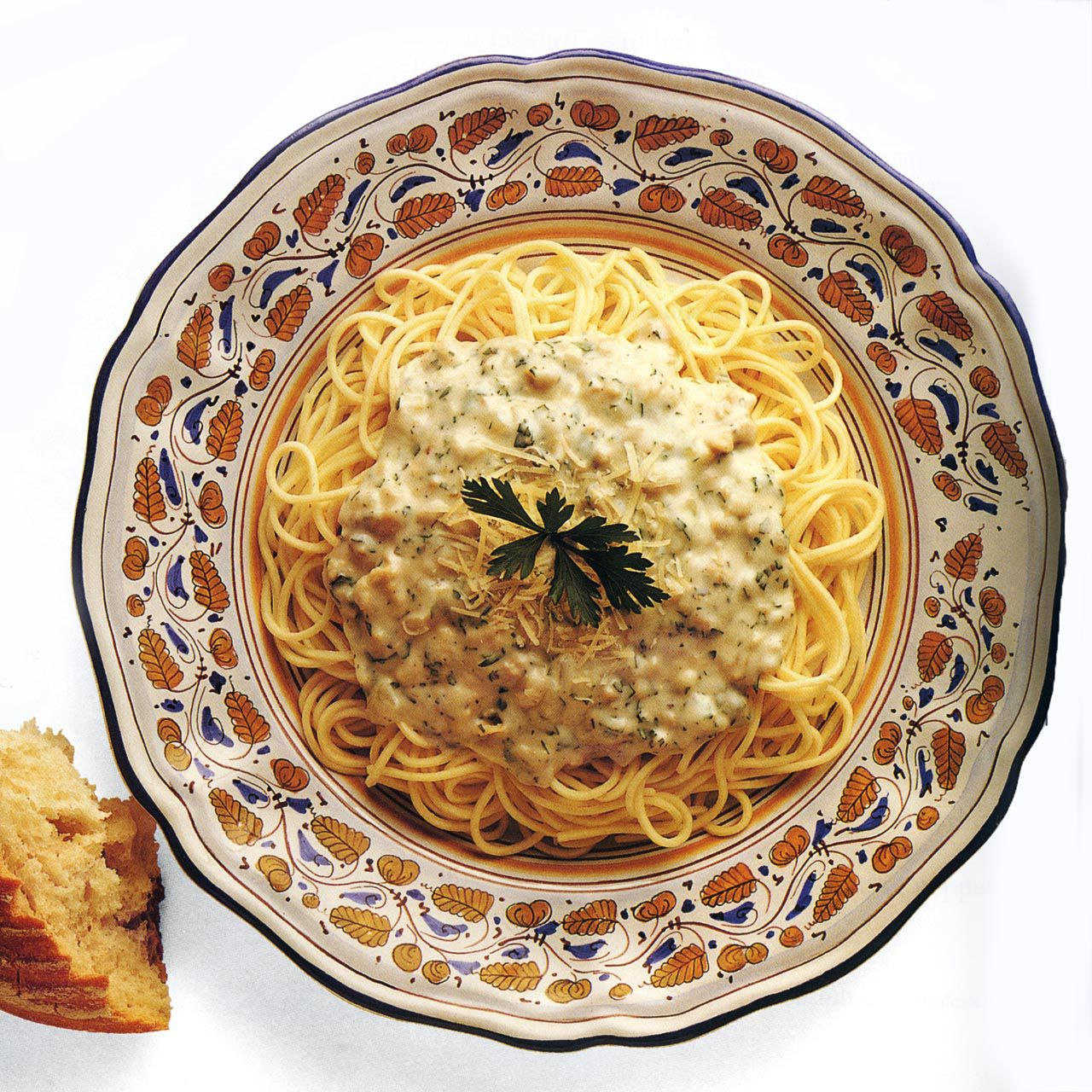 Spaghetti with Creamy Clam Sauce