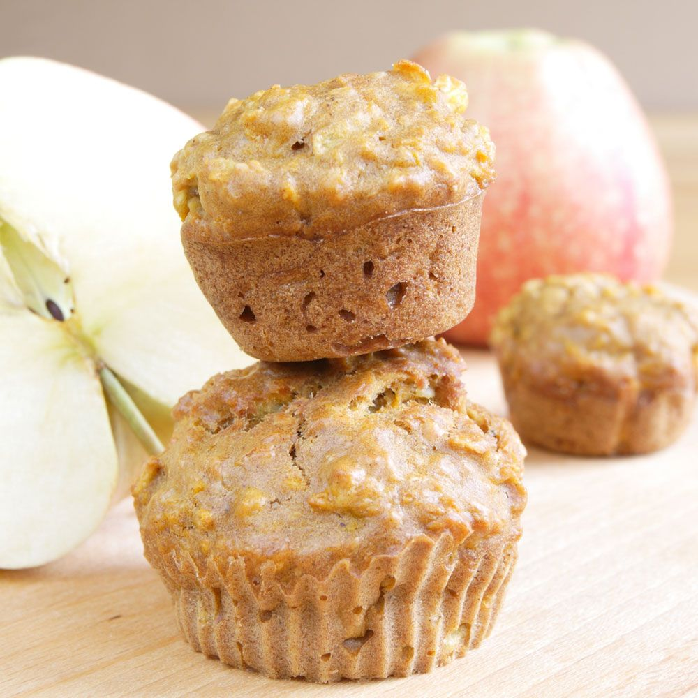 Refrigerator Apple Muffins