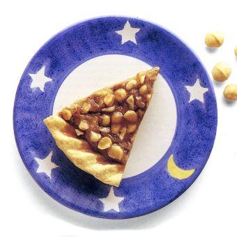 Sweet Potato Pie with Macadamia Crunch