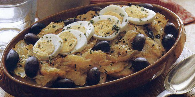 Gratin of Salt Cod and Potatoes