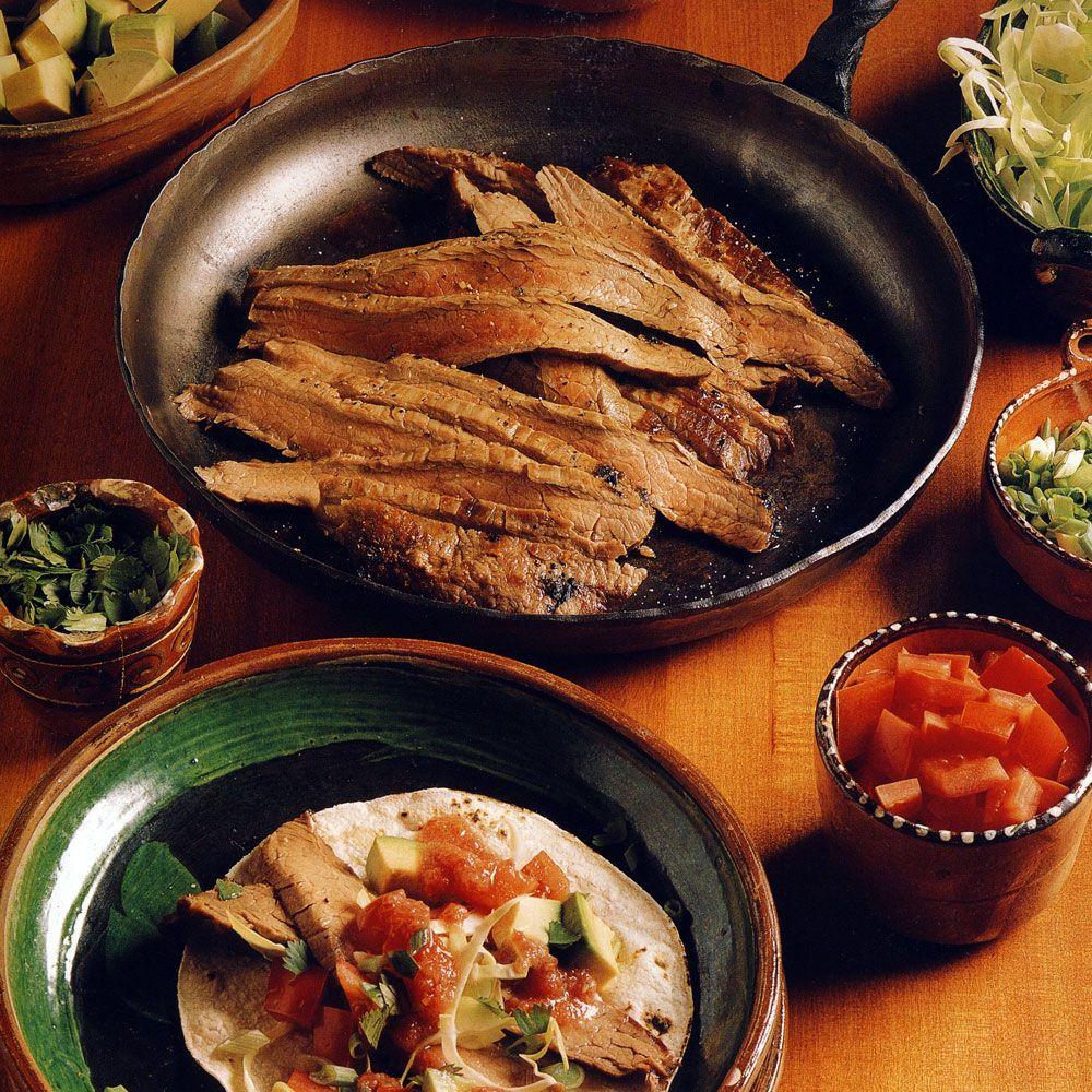 Grilled Beef Tacos