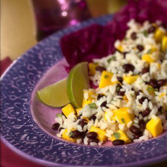 Mango Tango Rice Salad