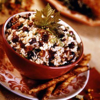 Cranberry Pecan Rice Pilaf