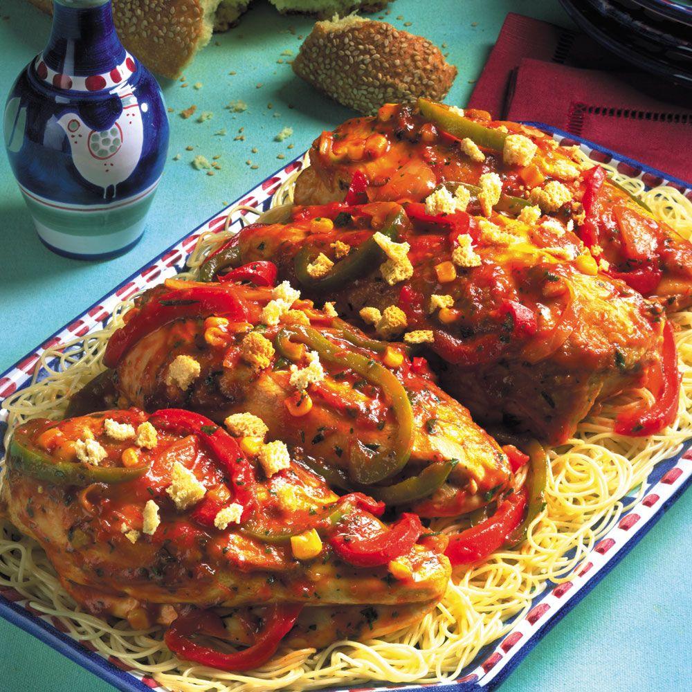 South-of-the-Border Chicken Cacciatore
