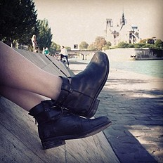 freepeople booties along the sein