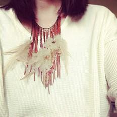 Billie Jean Thermal   Feather Fringe