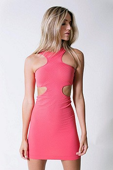 Cut Out Seamless Bodycon style pic