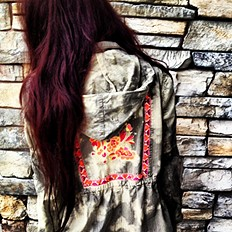 Embroidered Parka style pic