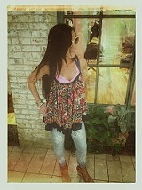FP ONE Living Large Floral Tank style pic
