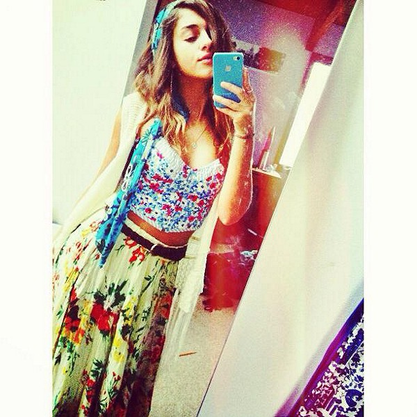 floral skirt from Free People absolutely magical... gypsy status. thank you fp xx.