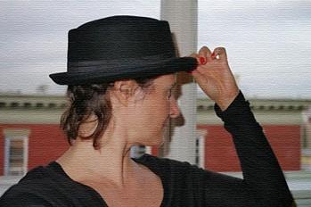 Patton Porkpie Hat style pic