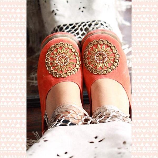 actual colors, slippers run big, comfy & cute :)