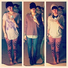 Dotted Ikat Skinny style pic