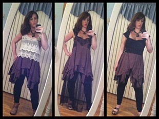 Pieced Lace Tunic style pic