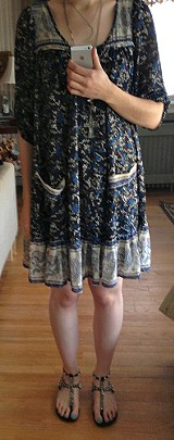 Penny Lane Chiffon Dress style pic