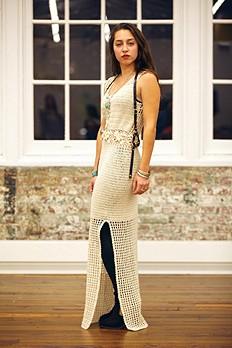 Kristal's Crochet Daisy Dress style pic