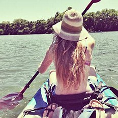 Ombre Straw Panama Hat style pic