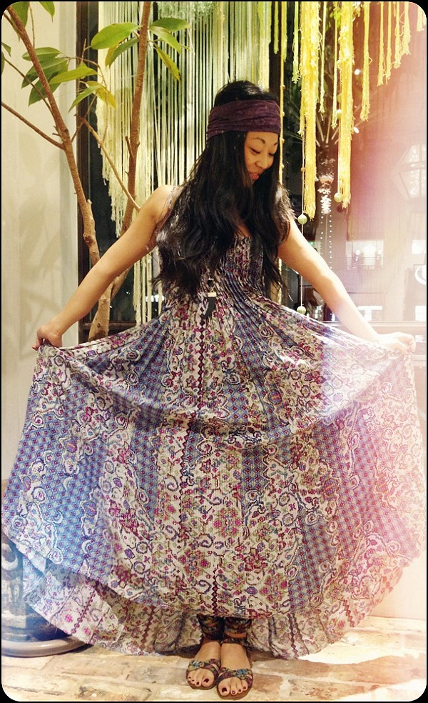 FP ONE Geo Gypsy Maxi Dress