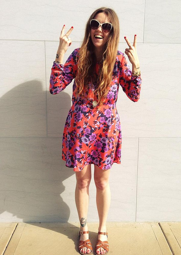 follow @freepeoplepaloalto for more! you dont have to ask me twice to put a dress on!