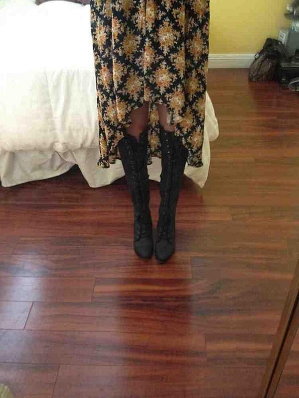 joe lace up boots