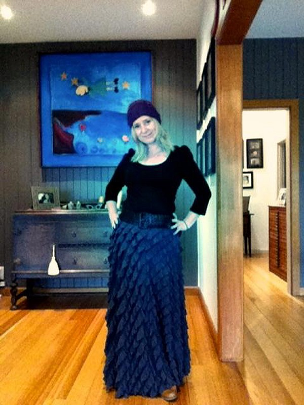 FP X Lydia Maxi Skirt style pic