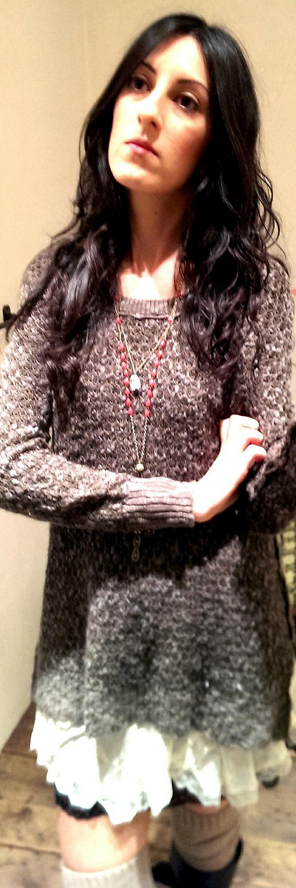 Honeycomb Mix Pullover style pic