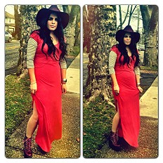 Maxi Lace Dress style pic