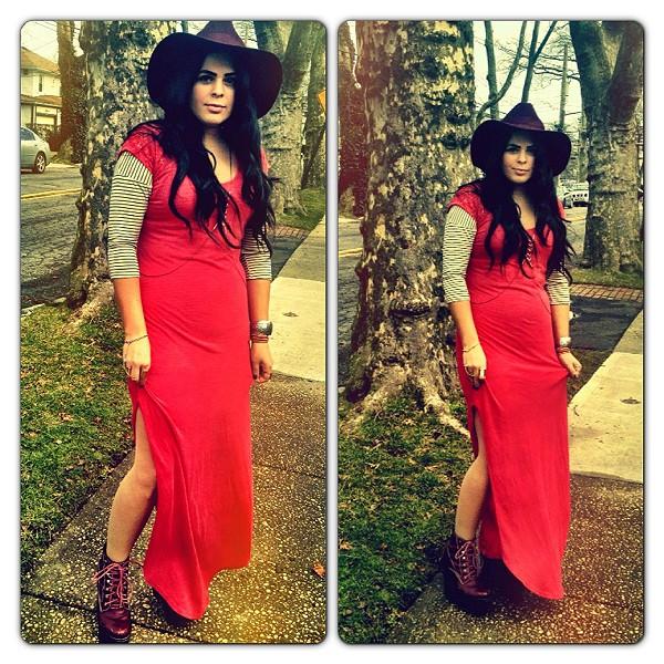 Maxi Lace Dress style pic