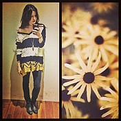 Striped Shaggy Knit Pullover style pic