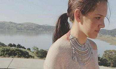 Antalya Coin Collar style pic
