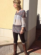 The India Print Tunic has pockets... And I love po