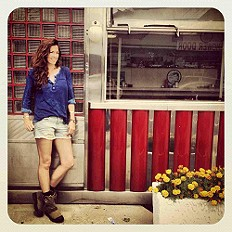 Urban Cowgirls love Saturday brunch at the local d