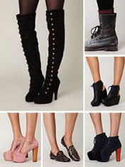 Shoes and more shoes I want.