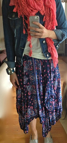 Kaleidoscope Fly Away Skirt style pic
