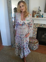 Vintage Maxi Dress style pic