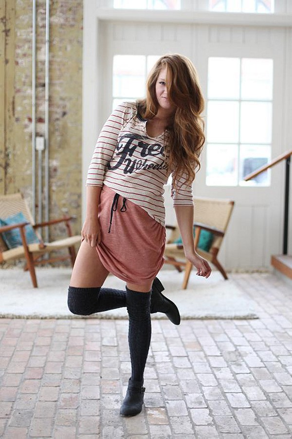 Lily Mini Shirred Skirt